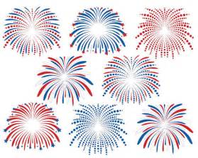 4th July Fireworks Clip Art