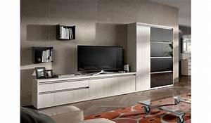 Meuble De Salon TV Contemporain Pour Meuble Tv Mural