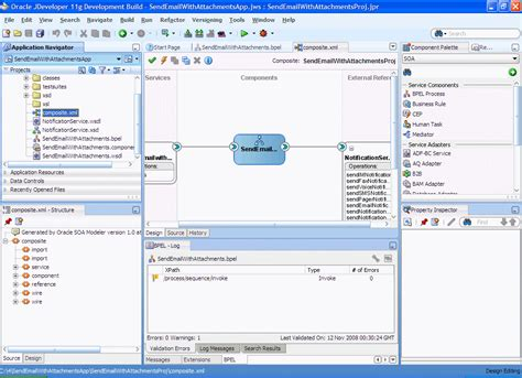 Oracle JDeveloper file extensions