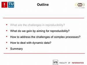 Reproducibility challenges in computational settings: what ...