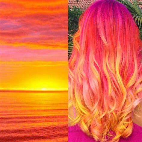 Sunset Hair Hair Color Pinterest My Hair Your Hair