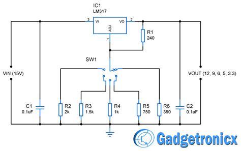 multiple voltage power supply