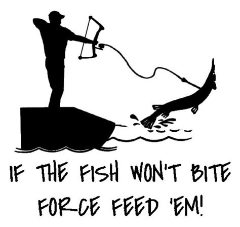 bowfishing clipart collection