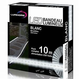 Ruban Led Blanc Froid : ruban led blanc froid deco lumineuse ~ Dode.kayakingforconservation.com Idées de Décoration