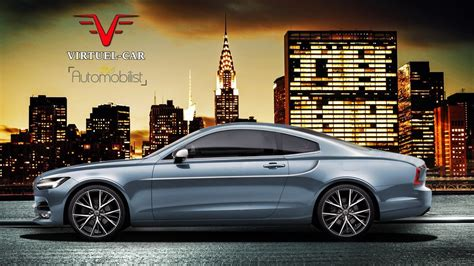 volvo announces sleek  coupe      photo