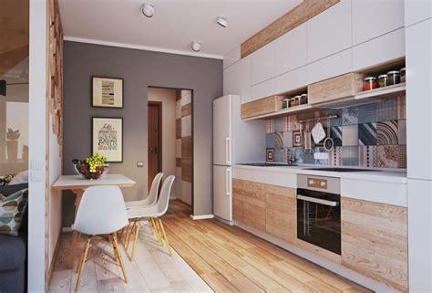 idee cuisine petit espace idée aménagement cuisine 50 intérieurs modernes