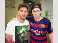 Messi avec Hardwell FCBarcelonecom