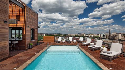 rooftop pools dc kimpton mason rook hotel