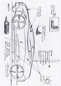 Car Sketch tutorial using markers basic rules – www