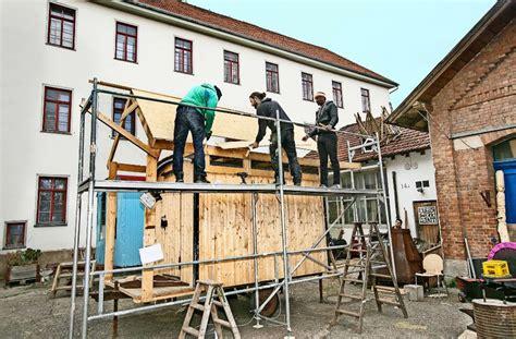 Tiny House Ein Bauwagen Als Minihaus by Alternatives Wohnen Minihaus Mit Cing Feeling