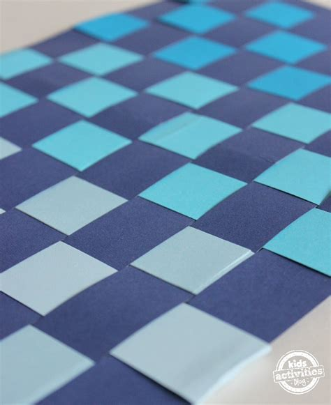 paper weaving craft  kids