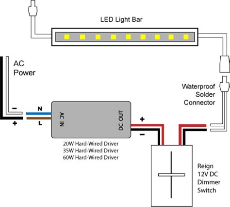 88light 12v led dimmer switch wiring diagrams