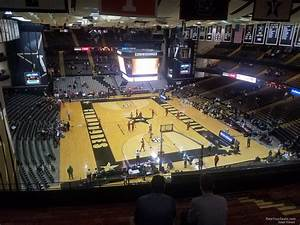 Vanderbilt Basketball Seating Chart Memorial Gymnasium Section 3l Rateyourseats Com