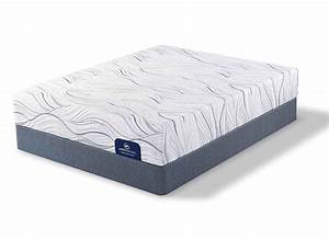 Serta shieldcrest plush memory foam mattress at furniture for Furniture and mattress warehouse king