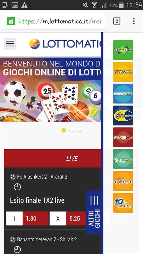 lottomatica mobile lottomatica o snai il nostro confronto tra gli operatori