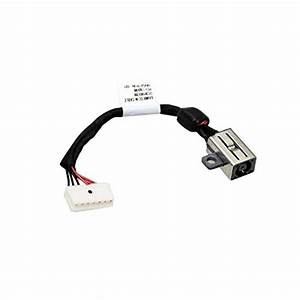 Dc Power Jack Cable Replacement For Dell Xps 15 9550 9560