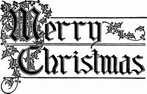 Merry Christmas Typography Image - Beautiful Lettering ...