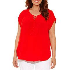jcpenney plus size blouses plus size blouses tops for jcpenney
