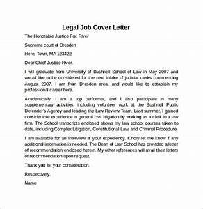 cover letter for a legal assistant letter for internship With legal document covers