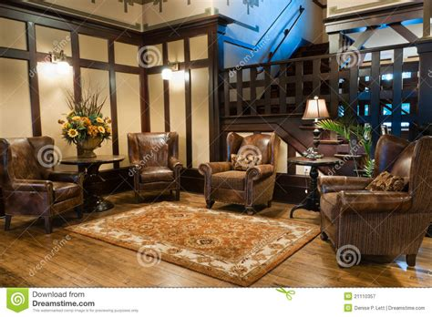 classic luxury hotel lobby royalty  stock photography