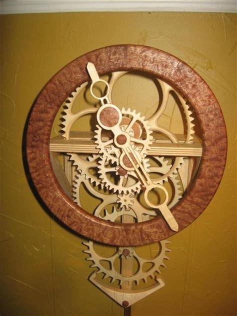 clock plans woodworking awesome orange woodwork build wood clock pdf plans