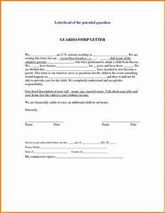 24 images of professional guardianship letter template With temporary custody letter template