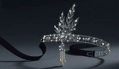 Gatsby Salome Headpiece Tiffany Jewelry Headband Pearls