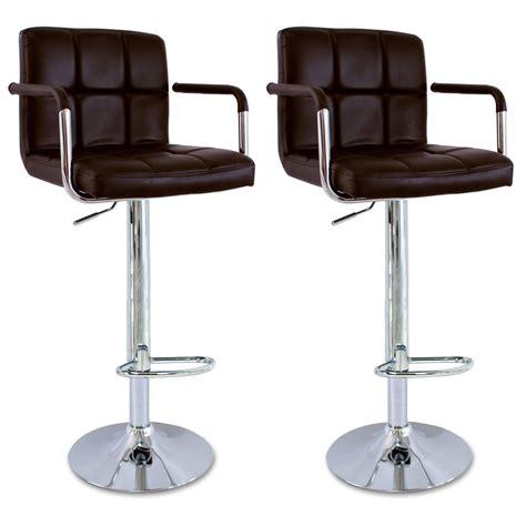 chaise cuisine avec accoudoir tabourets de bar avec accoudoir 2 chaise cuisine réglable