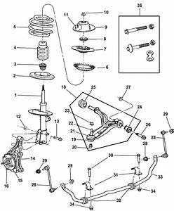 Dodge Caravan Front Suspension Diagram