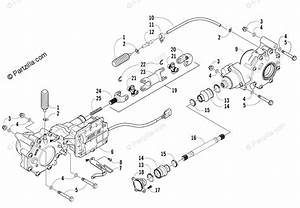 Arctic Cat Atv 2007 Oem Parts Diagram For Drive Train