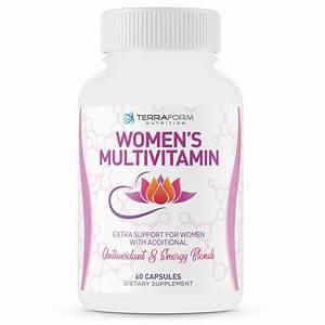 Women U2019s Multivitamin - Over 40 Active Ingredients - 60 Caps