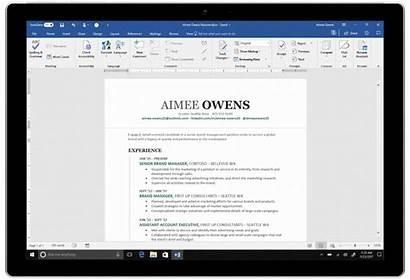 Word Resume Microsoft Assistant Linkedin Powered Profile