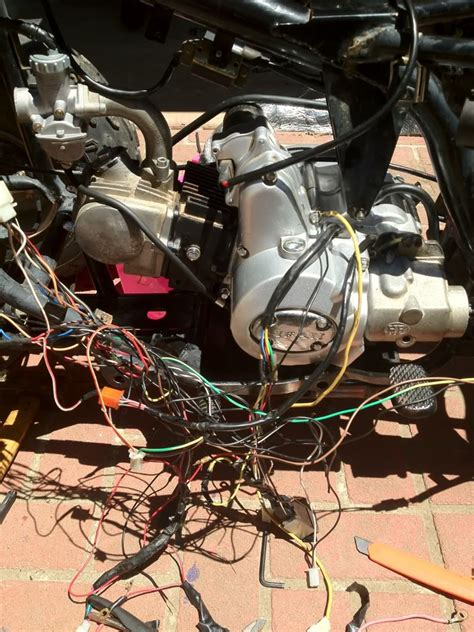 Honda 110 Atv Wiring Harnes For by 110cc Atv No Wiring Help Plz Atvconnection Atv