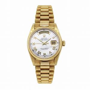 Rolex Day Date 18038 18k Yellow Gold Presidential Watch