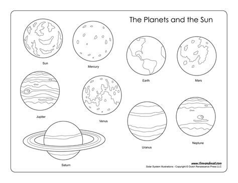 planets  solar system coloring pages page  pics