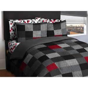 latitude geo blocks reversible bed in a bag walmart com