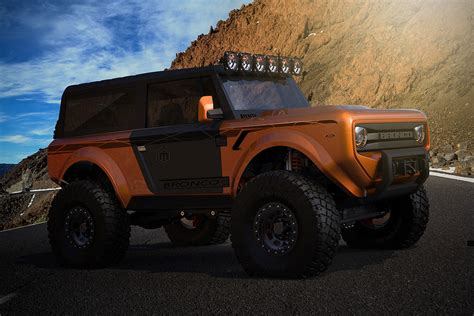ford bronco revealed   official announcedment