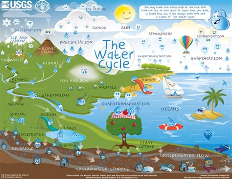 water cycle activity   california drought