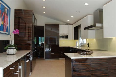 natural zebra wood cabinets google search ideas