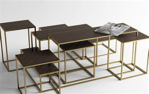 multi level coffee table 3rings coffee table compositions hospitality trend