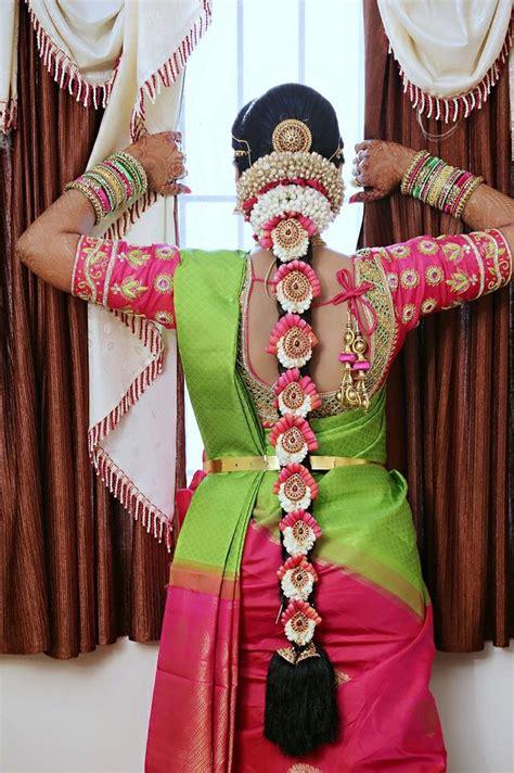 poo jadai alangaram designs  wedding  seemantham