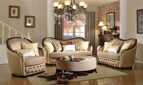 Roselyn Wood Trim Sofa Set Dark Espresso Mcferran Sf1610