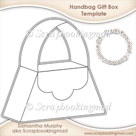 Handbag Gift Box Template handbag gift box template cu ok 163 3 50 scrapbookingmad