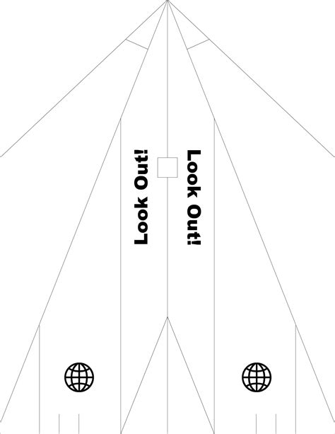 paper airplane templates printable family paper airplanes paper