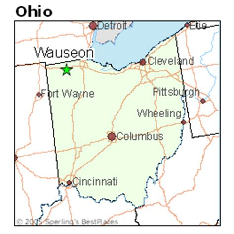 places    wauseon ohio