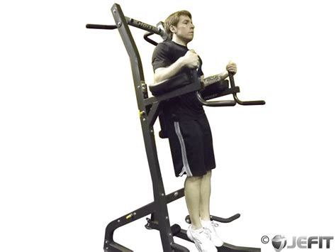 Chair Leg Raise Oblique by Chair Twisting Knee Raise Exercise Database