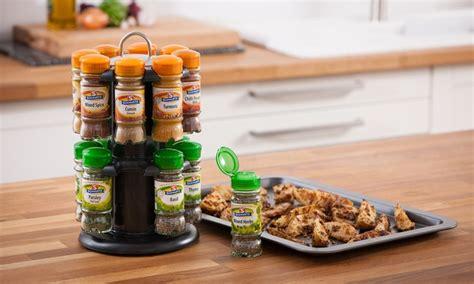 Schwarz Spice Rack by Schwartz Revolving Spice Rack Groupon Goods