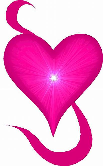Heart Hearts Animated Pink Glitter Clipart Animation
