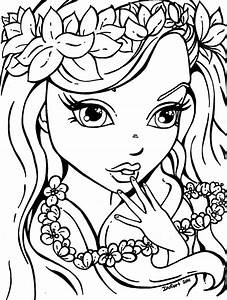 coloring pages for girls - lisa frank girl coloring pages printable coloring page for