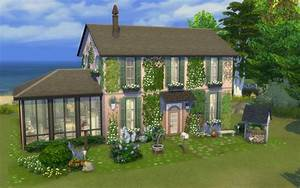 Sims 4 Maison Ancienne Rose Building House Home